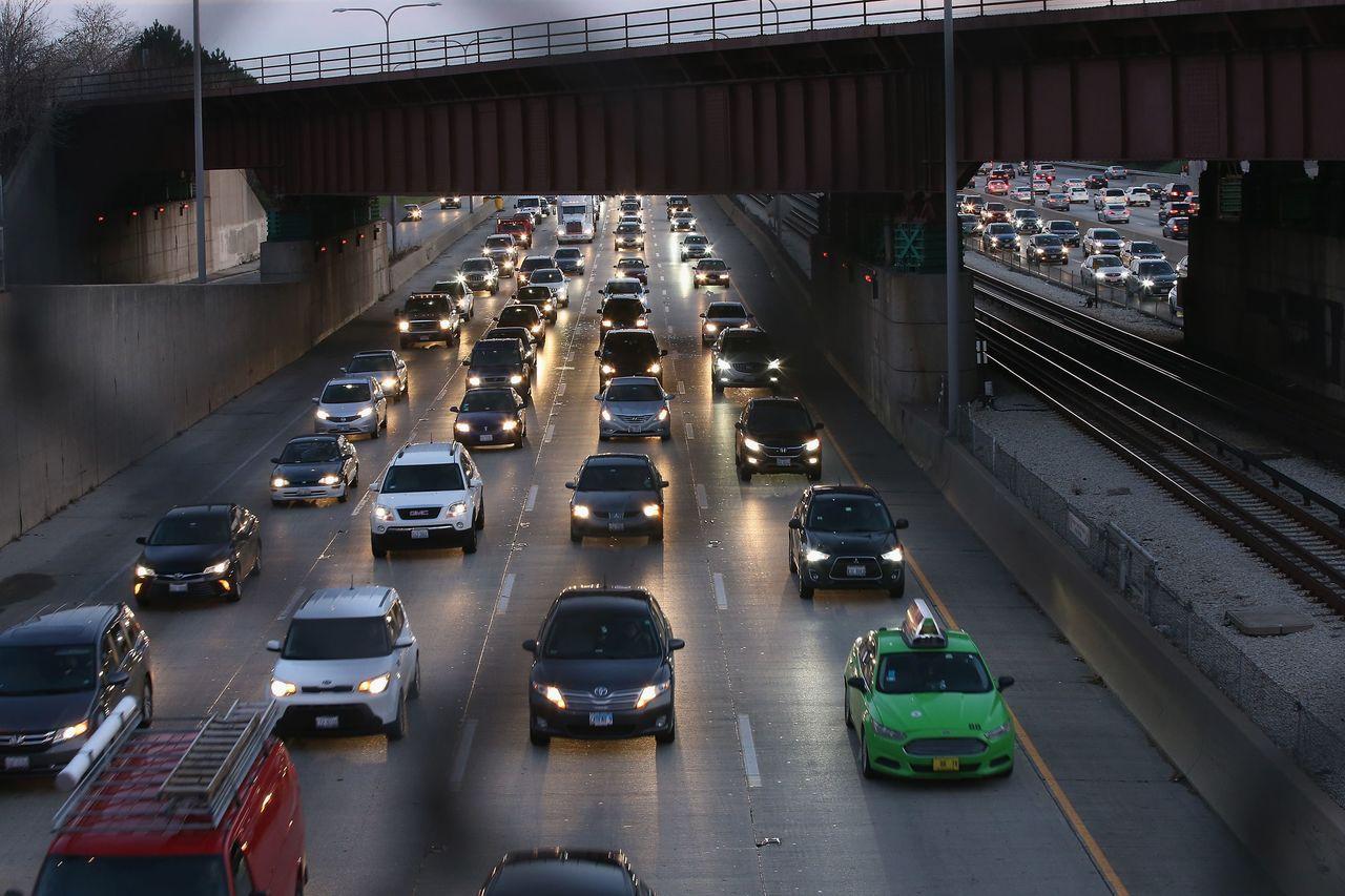 美國愛達荷州警方開始取締占用超車道的龜速車。法新社