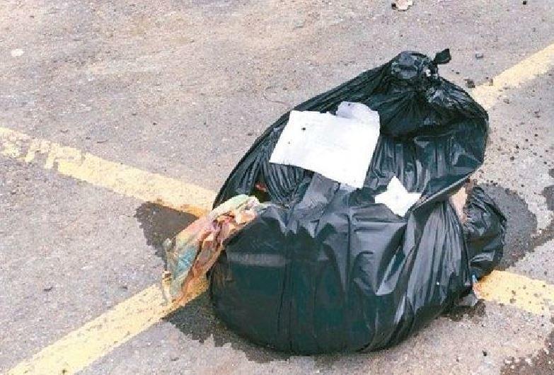保七第六大隊員靠著查驗1袋垃圾,積極追查而破獲組織完整的8人山鼠團。圖/本報資料...