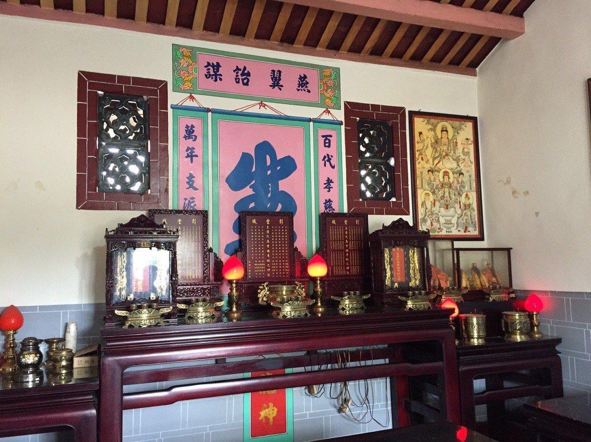 台中市新社區「大南劉家祖厝」,已有近170年歷史,是客家伙房類型建築,正式錄為台...