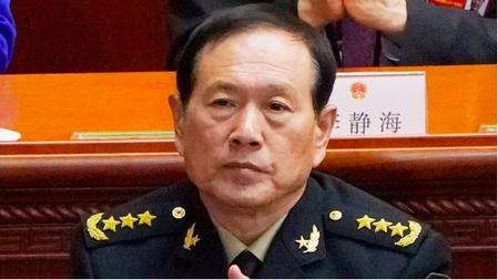 中共國務委員兼國防部長魏鳳和。(上觀新聞網照片)