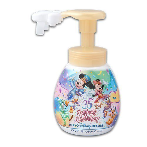 限定版「米奇泡泡洗手乳」,一瓶售價1200日圓。圖/翻攝自東京迪士尼官網