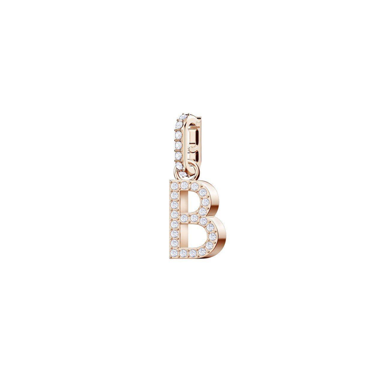 Swarovski Remix Collection Charm-B字母吊飾,...