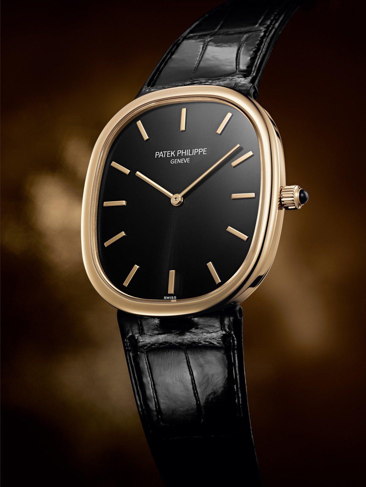 Gold Ellipse編號5738R玫瑰金男裝腕表,93萬8,000元。 圖/...