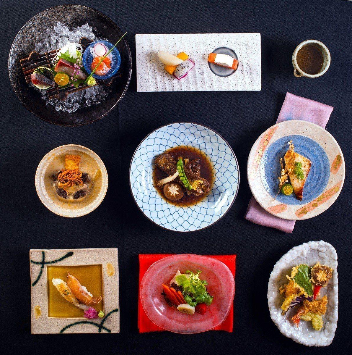 祇園日本料理「秋饌」。圖/六福旅遊集團提供