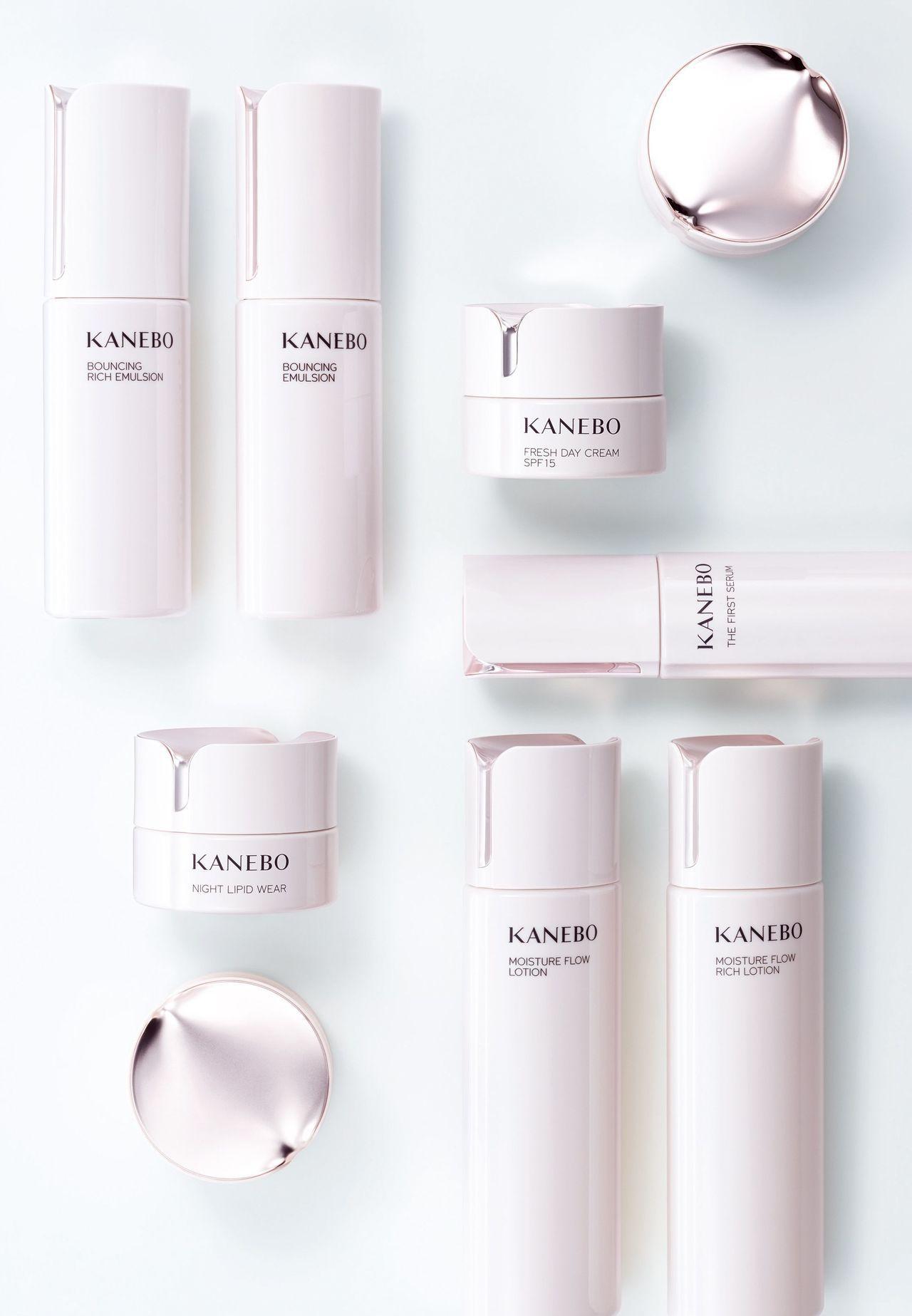 全新KANEBO商品視覺及瓶身設計特邀法國設計師Gwenael Nicolas操...