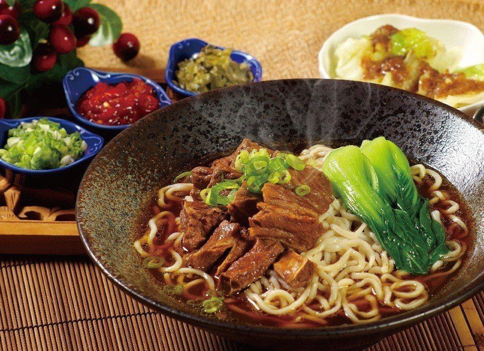 台北天成大飯店百合西餐廳天成牛肉麵。天成集團/提供