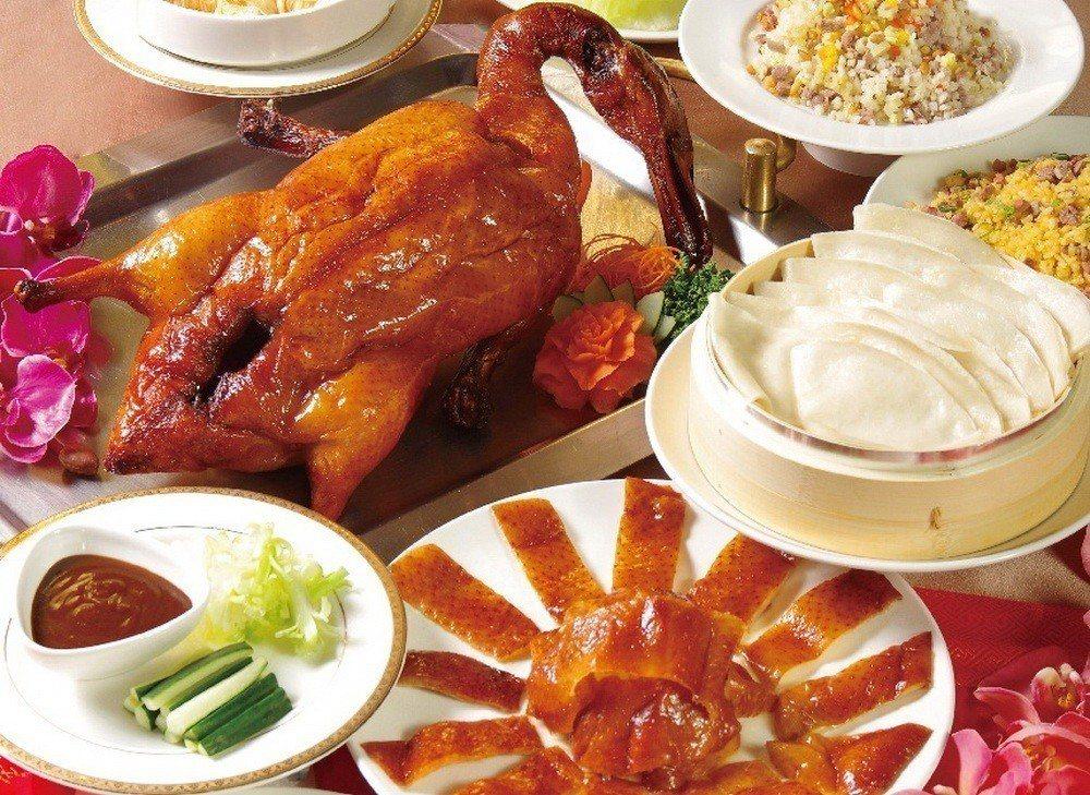 天成大飯店TICC世貿會館「翠庭明爐烤鴨」。天成集團/提供
