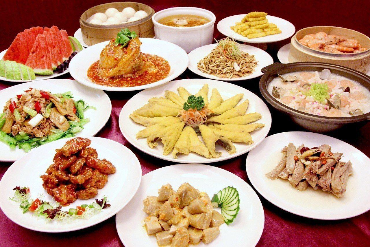 天成飯店集團聯合桌菜「美膳桌席」。天成集團/提供