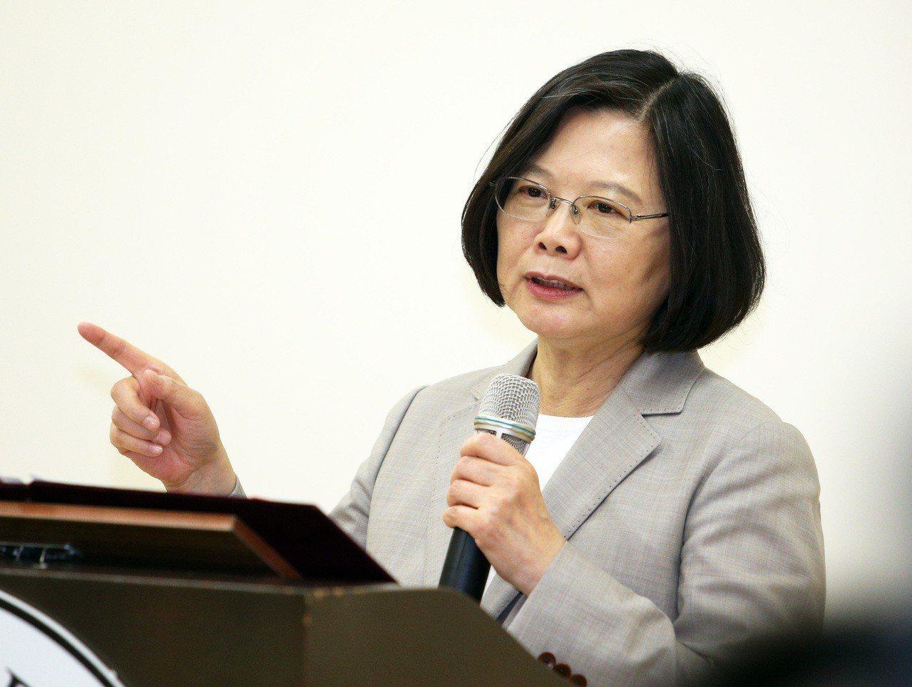 新台灣國策智庫民調顯示,近6成國人不支持蔡英文連任。 圖/聯合報系資料照片