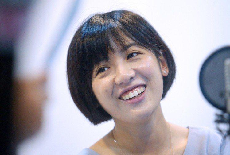 「學姐」黃瀞瑩人氣火熱成為「嬌」點。聯合報系資料照 記者陳正興/攝影