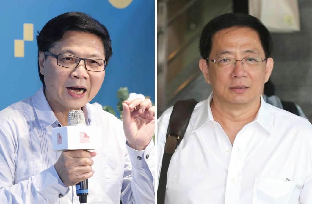 新任教育部長葉俊榮(左圖),對管中閔(右圖)任不任台大校長有很多看法。 圖/記者...