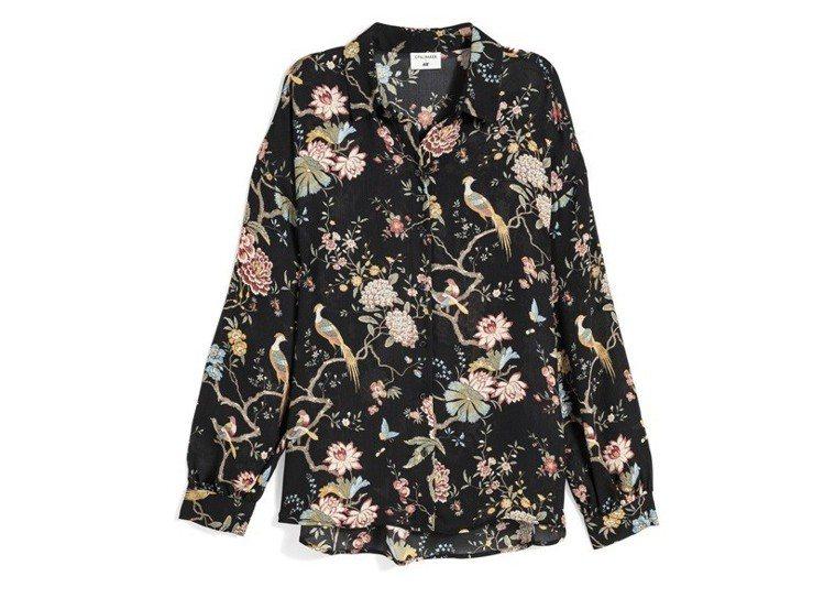 GP & J Baker與H&M聯名系列上衣,約799元。圖/H&M提供