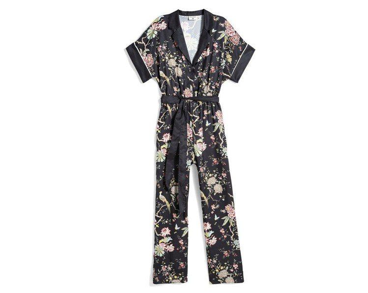GP & J Baker與H&M聯名系列洋裝,約1,699元。圖/H&M提供