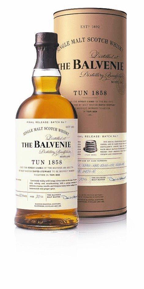 THE BALVENIE百富1858號系列珍稀酒款,呈現不同凡響的威士忌口感。 ...