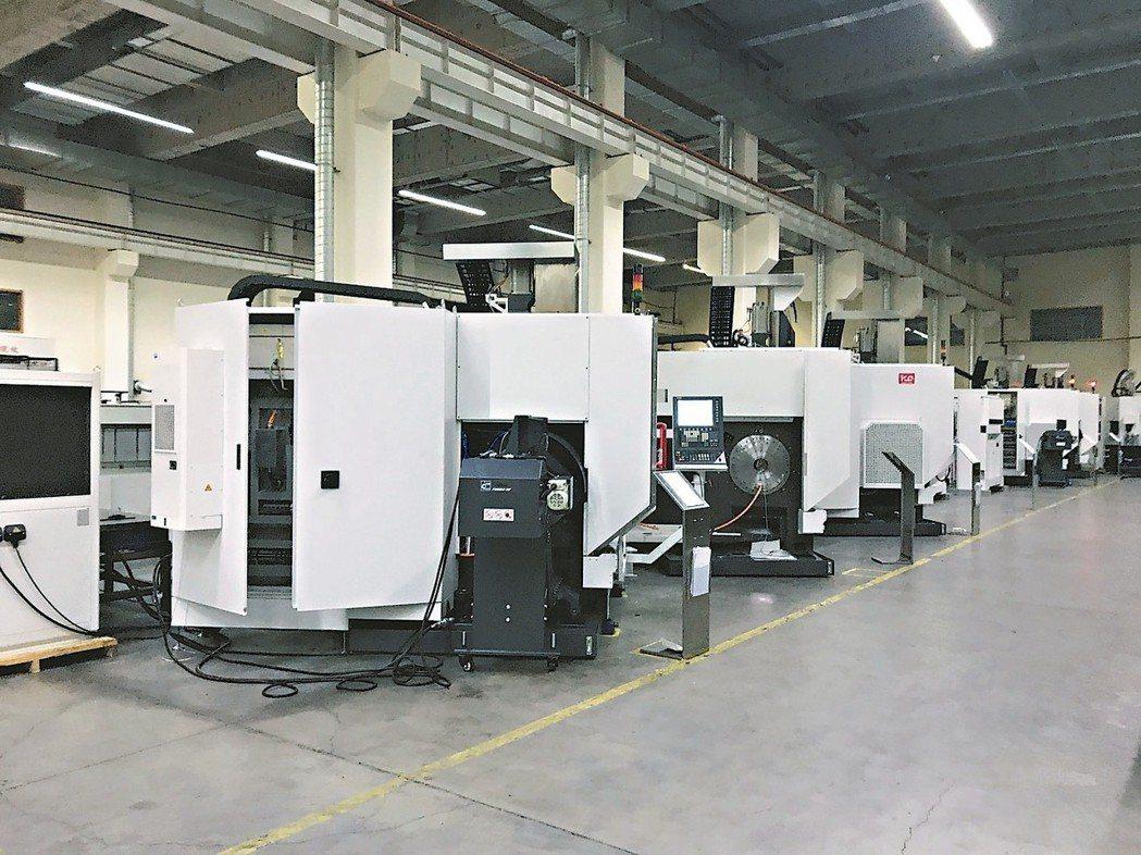 大連光洋科技旗下工廠位於地下14公尺,廠內冬暖夏涼,可節省95%的能源,並生產軍...