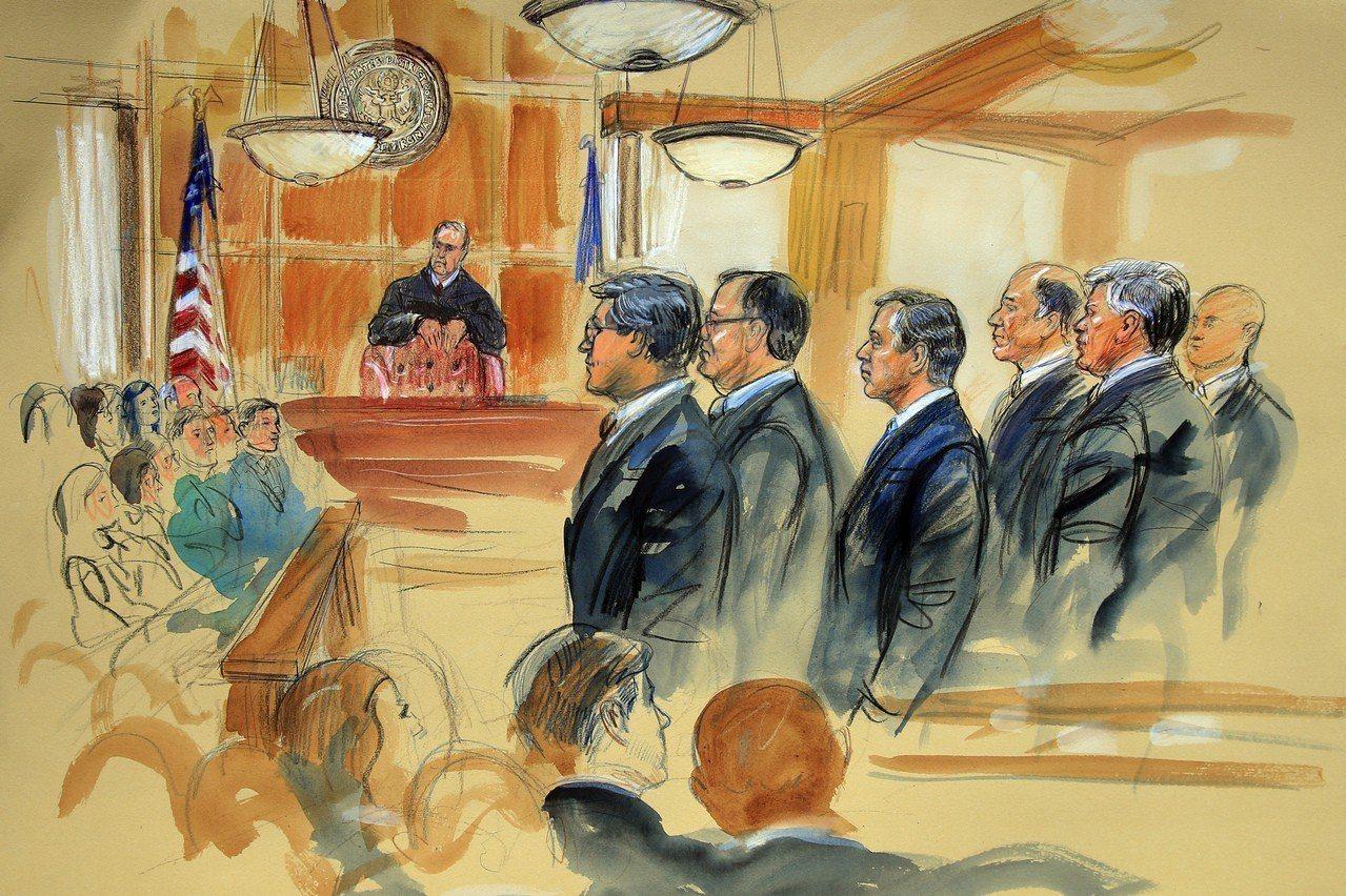 78歲馬納福逃稅案主審法官,審案嚴格著稱,常打斷檢辯雙方陳詞。 美聯社