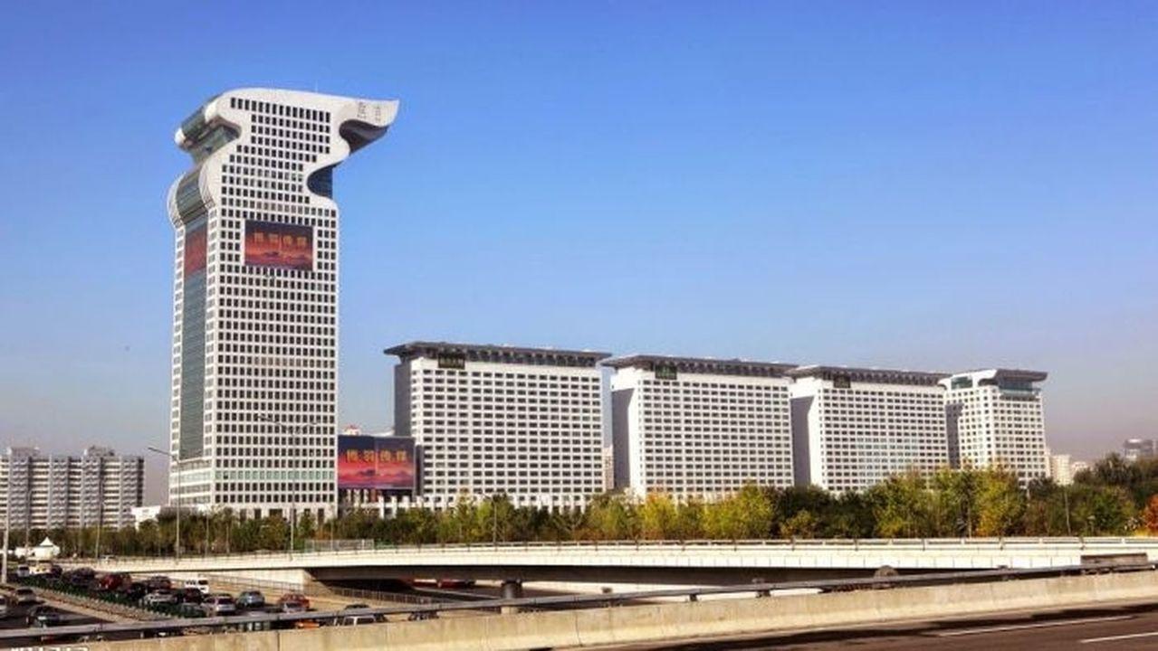 郭文貴盤古大觀豪宅和樓頂四合院,被北京拍賣。圖/擷自財新網