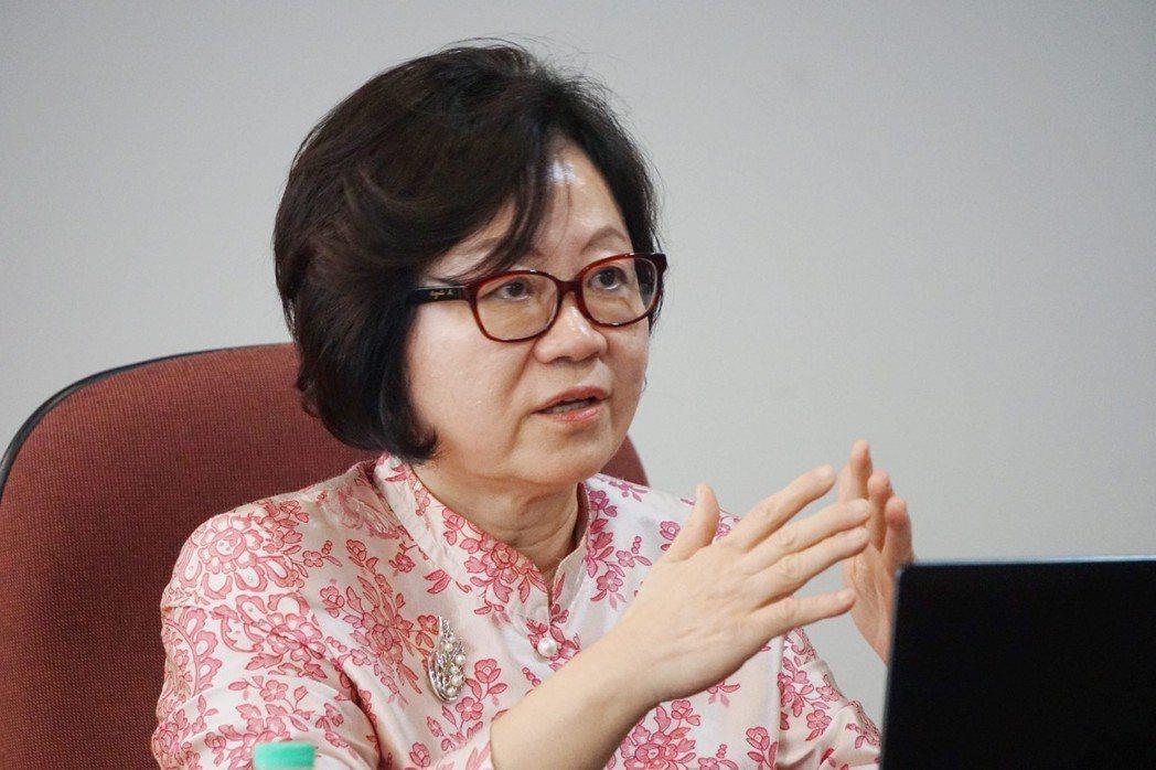 公共電視文化事業基金會董事長陳郁秀。 圖/中央社