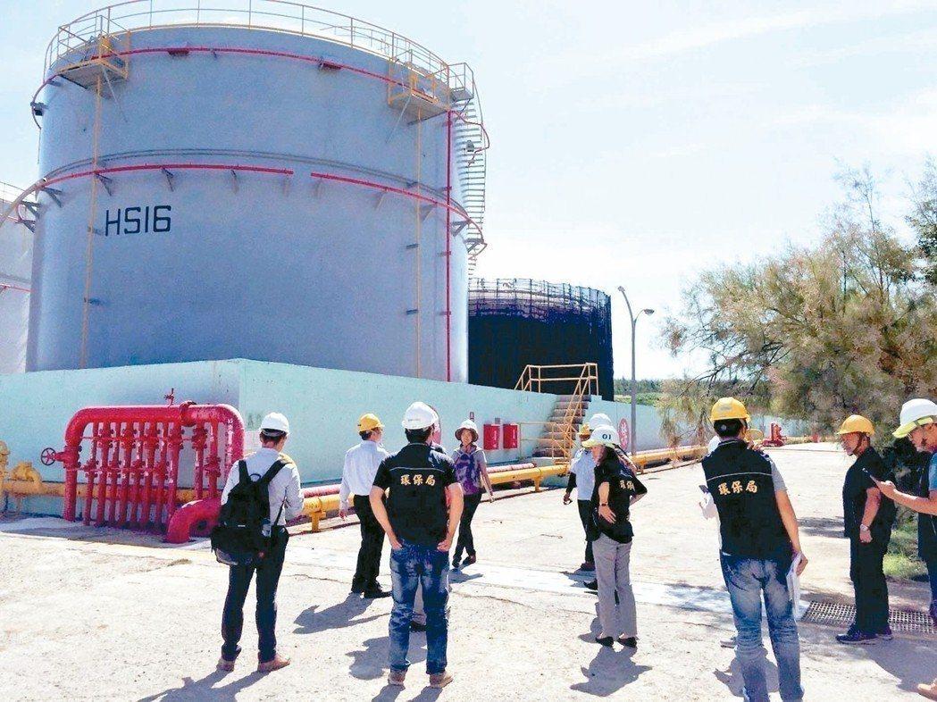 中油澎湖湖西油庫去年中發生漏油卻隱匿不報,中油承諾新台幣1800萬元慰問金。 ...