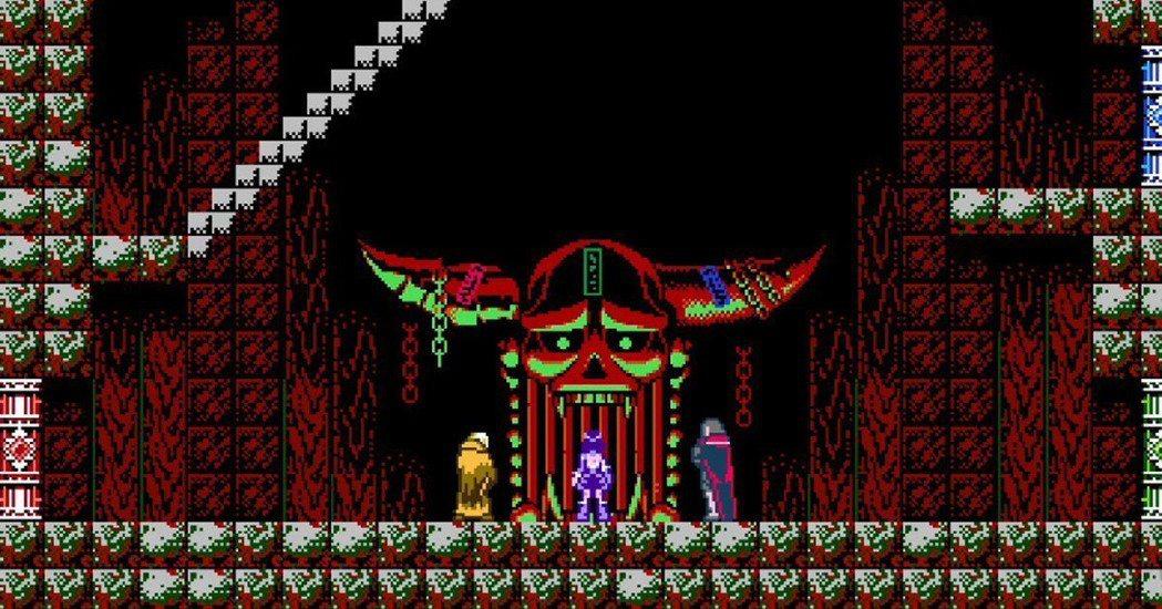 這是...難道這是「月風魔傳」的鬼門迷宮嗎?嘿嘿~這就是另一個多重結局囉!在此小...
