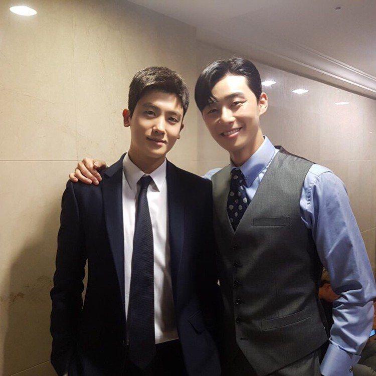 (左至右)朴炯植、朴敘俊。圖/擷自instagram