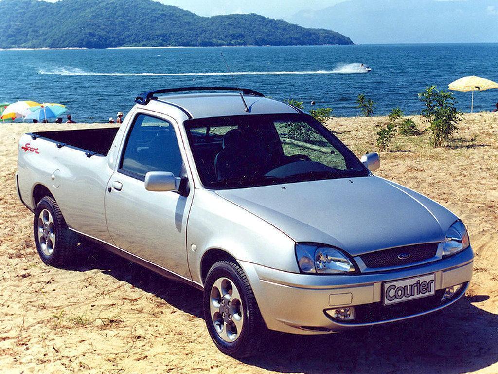 以Fiesta的平台打造的Courier在中南美洲相當熱銷。 摘自Ford