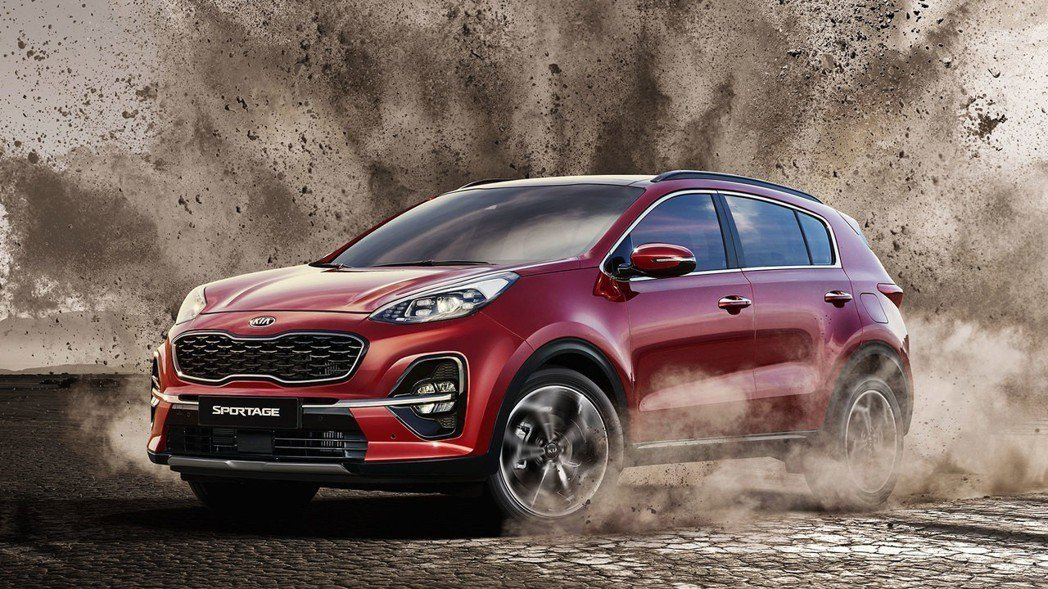小改款Kia Sportage在韓國共有1.6升柴油、2.0升柴油、2.0升汽油...