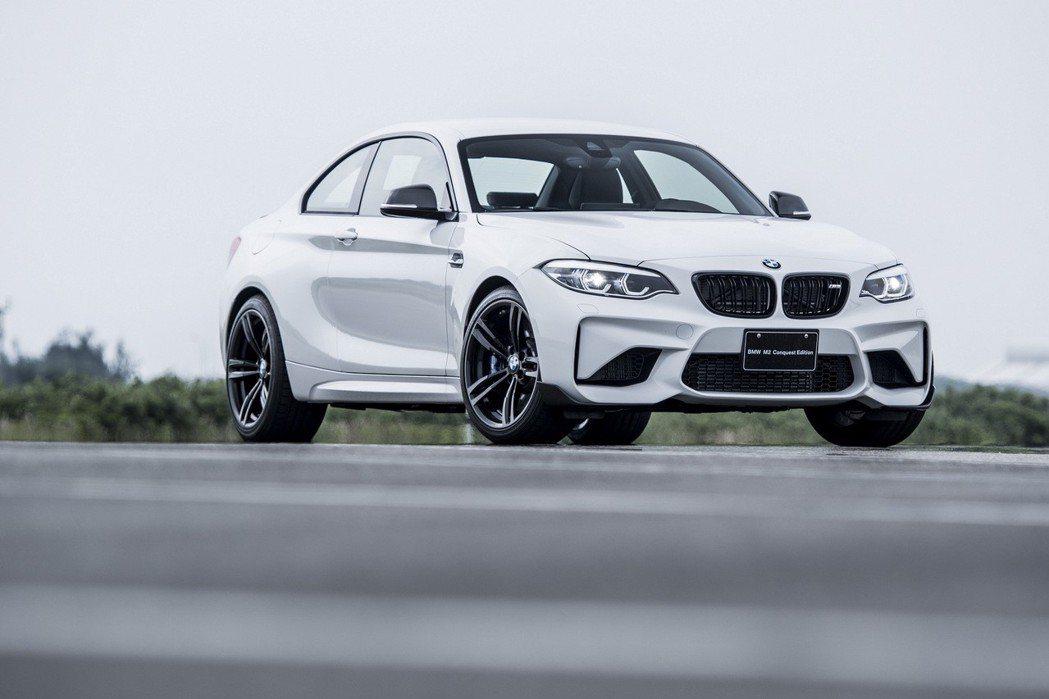 BMW M2 Conquest Edition。 圖/汎德提供