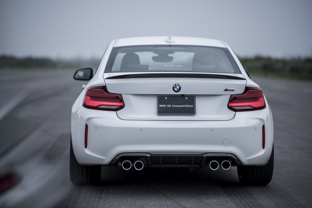 BMW M2 Conquest Edition全面升級搭載M Performance高性能加裝套件。 圖/汎德提供