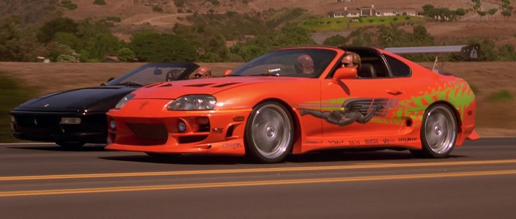 1994 Toyota Supra MK IV。 摘自The Fast and the Furious Wiki