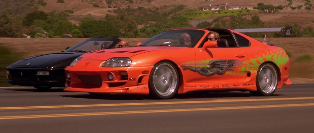 1994 Toyota Supra MK IV。 摘自The Fast and ...