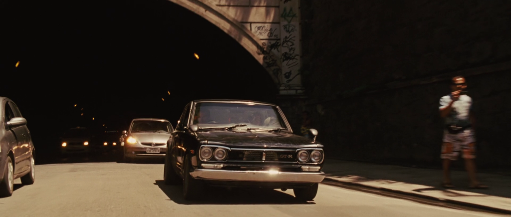 1971 Nissan Skyline GT-R KPGC10 摘自The Fast and the Furious Wiki