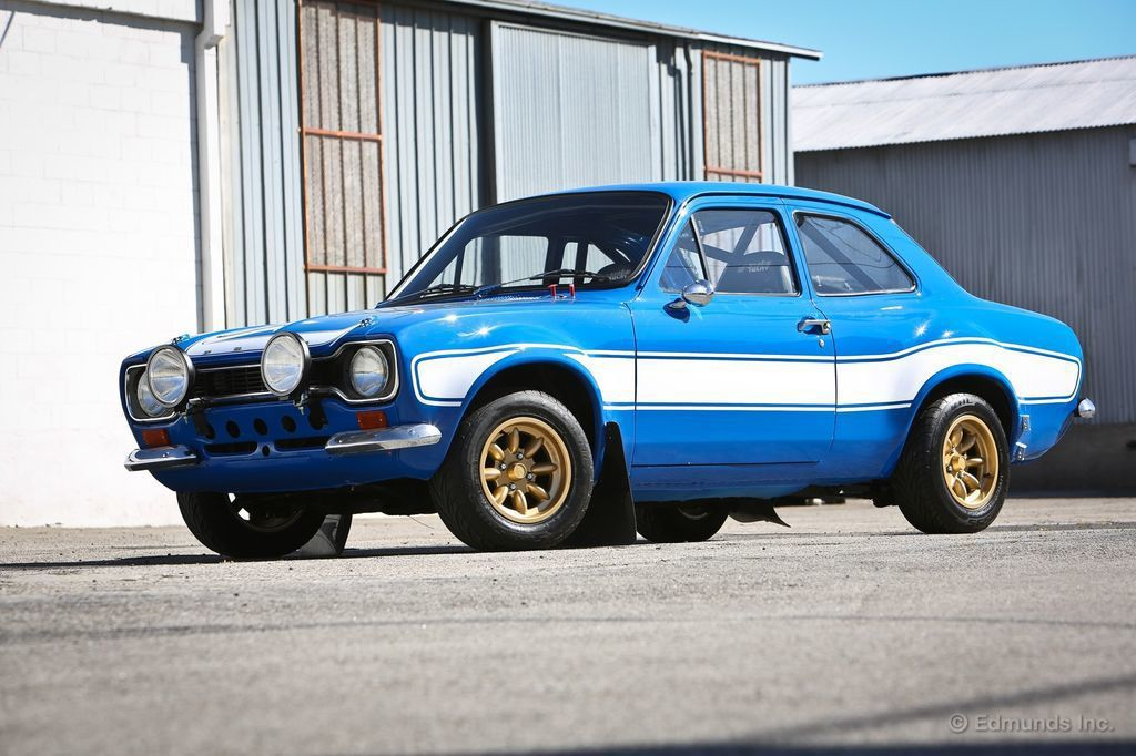 1970 Ford Escort MK I。 摘自The Fast and th...