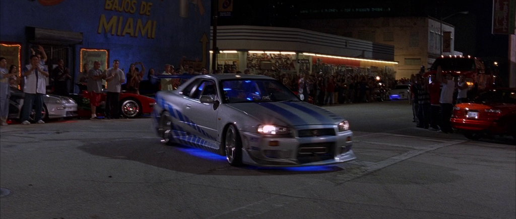 1999 Nissan Skyline GT-R R34 摘自The Fast and the Furious Wiki