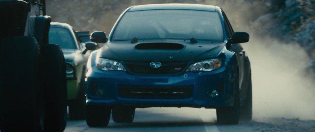 2012 Subaru Impreza WRX STi。 摘自The Fast and the Furious Wiki