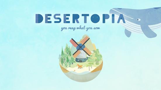 將原本是沙漠的島嶼透過澆水培育出新生命,在資源分配與取捨之間建設樂園的模擬養成遊...