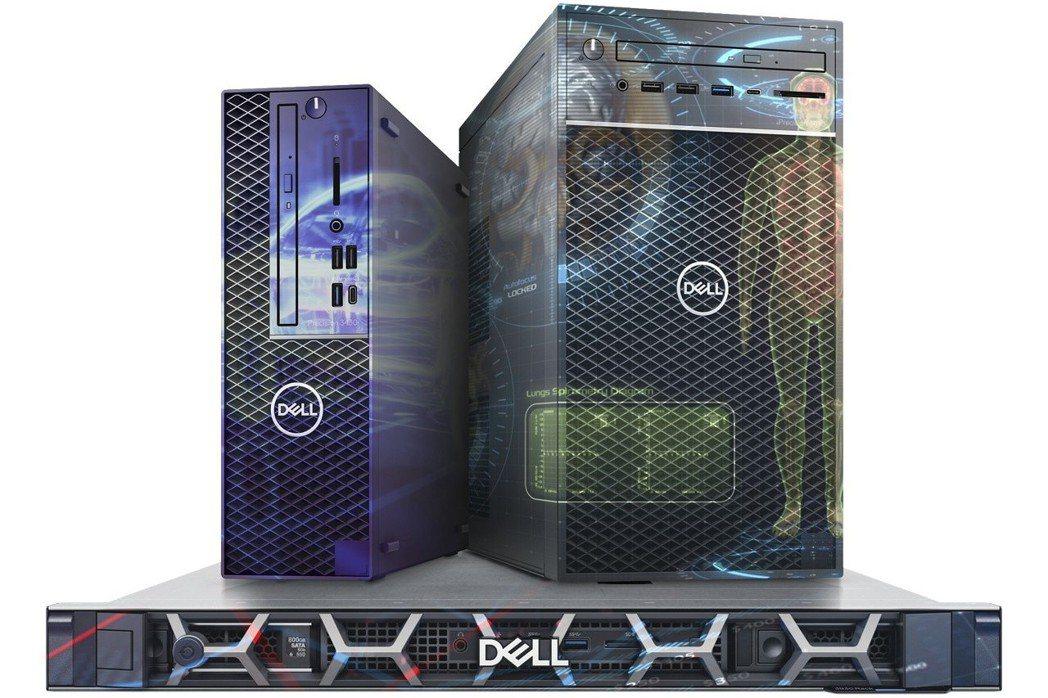 Dell Precision 3000 系列工作站一次滿足各項商業運算需求。 戴...