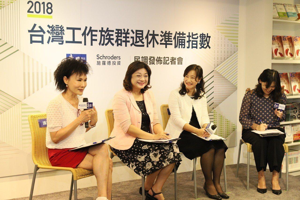最新的「台灣工作族群退休準備指數大調查」發現,退休財務規劃上,台灣的總分遠不及世...