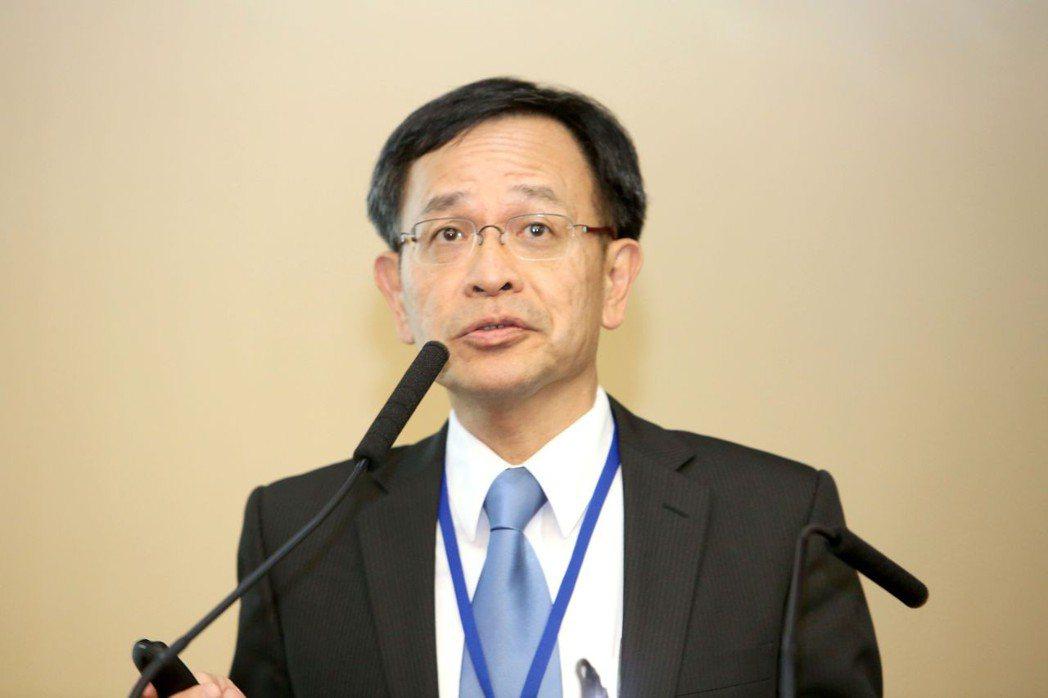 國泰世華銀行主管。 毛洪霖/攝影