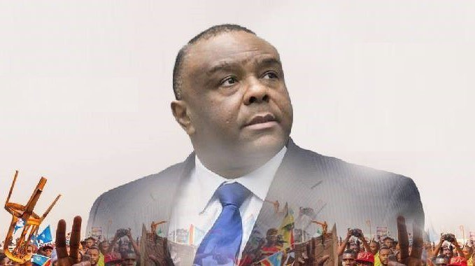 班巴出獄後隨即回國挑戰總統大選,外界看好他能選贏民主剛果現任總統卡必拉。(pho...