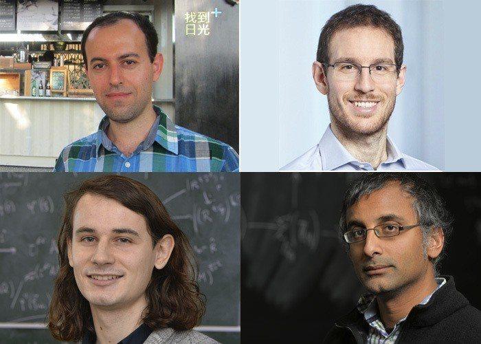 2018數學費爾茲獎公布得主名單,共有4名傑出數學家獲得此殊榮。(photo b...