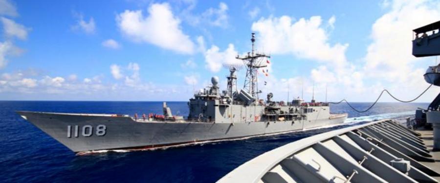 圖為由美國提供技術、台灣自行建造的巡防艦班超號。(取材自海軍司令部)
