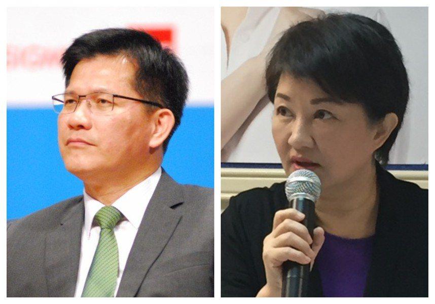最新民調指出,有43.2%民眾支持林佳龍市長連任,盧秀燕的支持度則是24.4%。...
