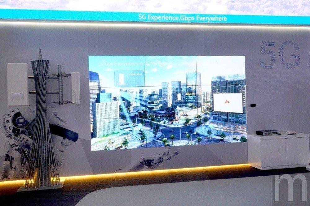 華為目前更積極投入5G連網技術研發