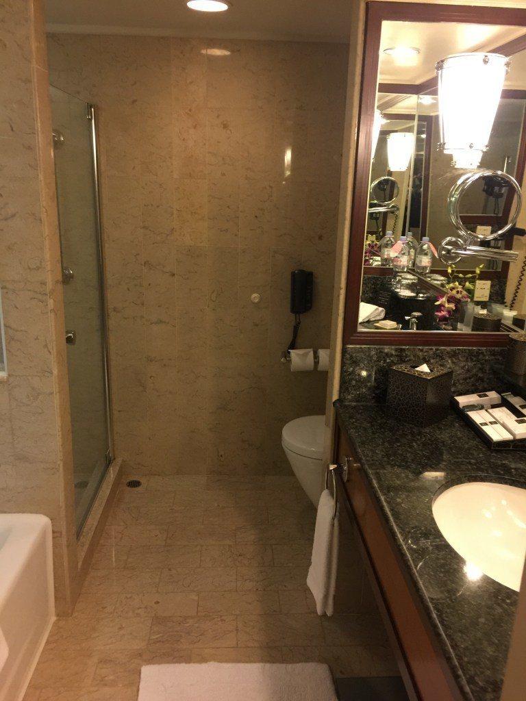 乾濕分離的浴室 圖文來自於:TripPlus