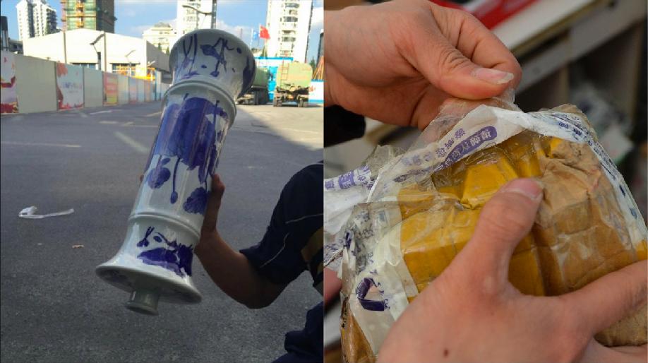 價值18.4萬元的高價酒,運送過程中,神奇「完全揮發」。(香港01報導)