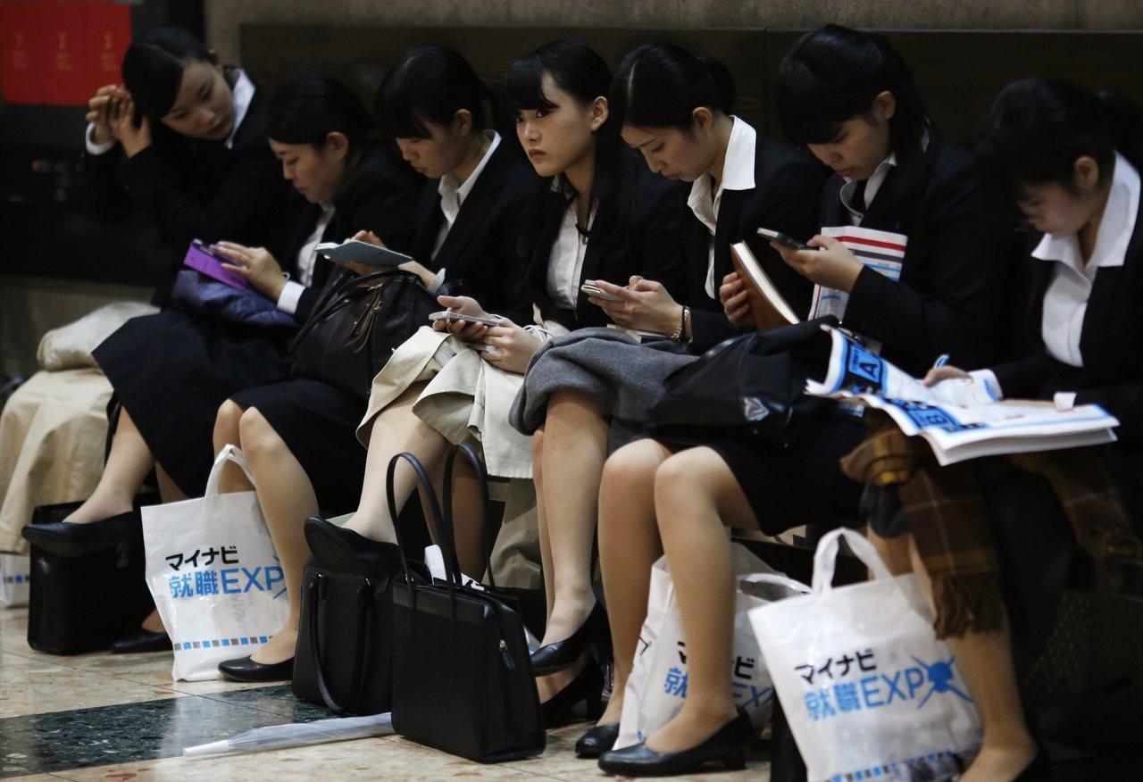 日本職場文化出現轉變,愈來愈多求職者不僅追求更高的工資,更重視生活品質。路透