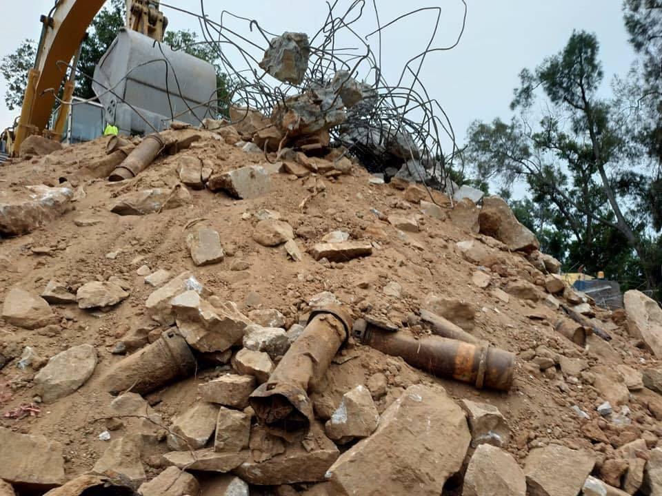 今年是823砲戰60周年紀念,針對兩地軍用歷史建物被拆,前陸軍副司令備役中將黃奕...