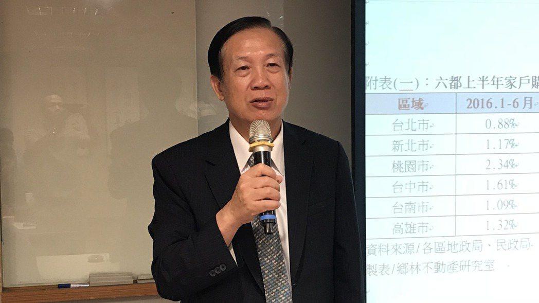 商總理事長賴正鎰。 記者游智文/攝影