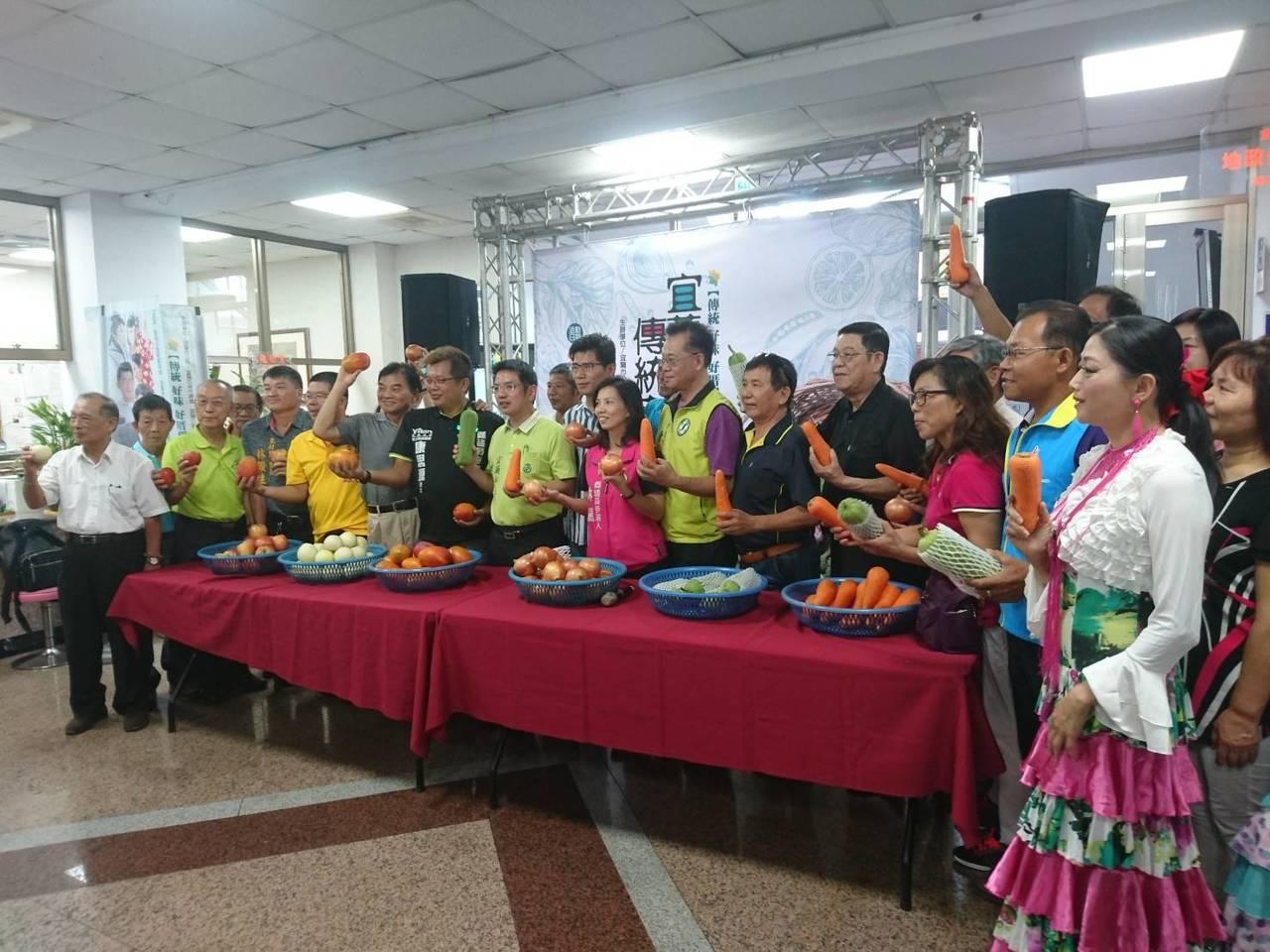 宜蘭市公所舉辦「2018宜蘭市傳統市場節」,推廣市場人文與產業。記者羅建旺/攝影